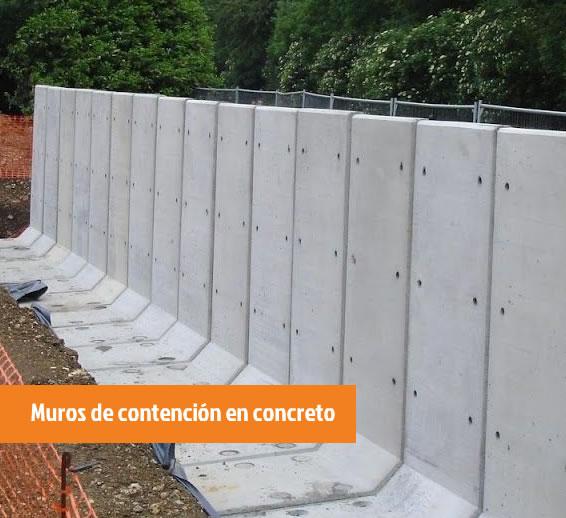 servicios de excavacin pilotaje cimentacin losas de hormign muros de contencin en concreto o gaviones estructuras en concreto with muros contencion - Muros De Contencion